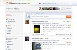 Facebook Marketplace powered by Oodle