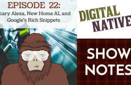 Episode 22 – Scary Alexa, New Home AI, and Google's Rich Snippets.