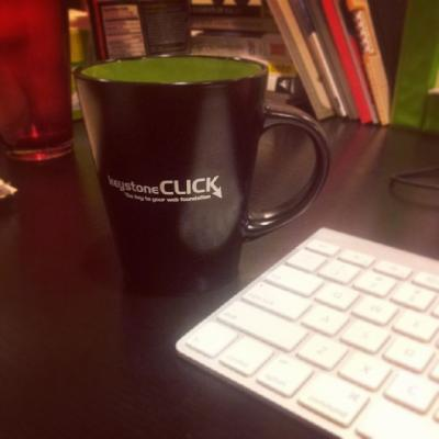 Keystone Click coffee mug