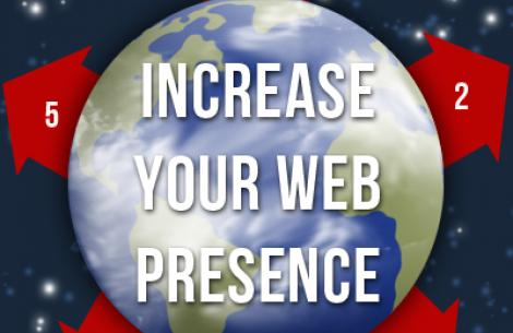 Increase web presence