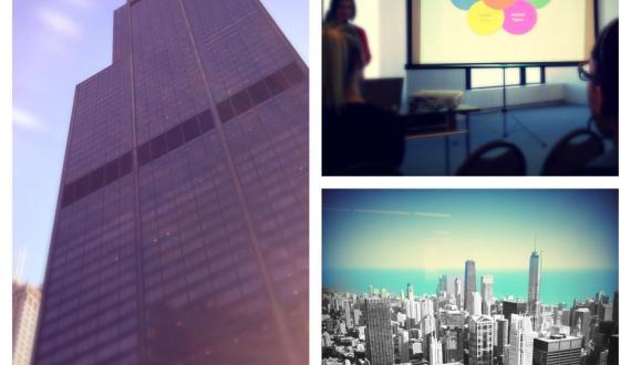 Willis Tower Social Media Week Chicago 2013